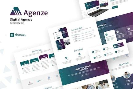 Agenze - The Digital Agency Elementor Template Kit