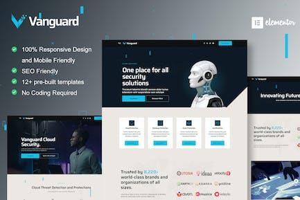 Vanguard - Cyber Security Service Elementor Template Kit