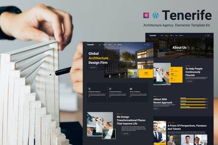Tenerife - Architecture Agency Elementor Template Kit